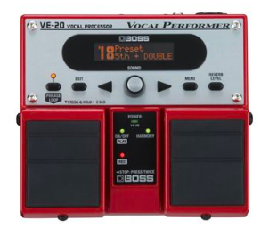 Vocal Processor (Boss VE-20)